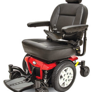 Red Jazzy 600 ES Power Chair