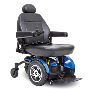 Blue Jazzy Elite HD Powerchair