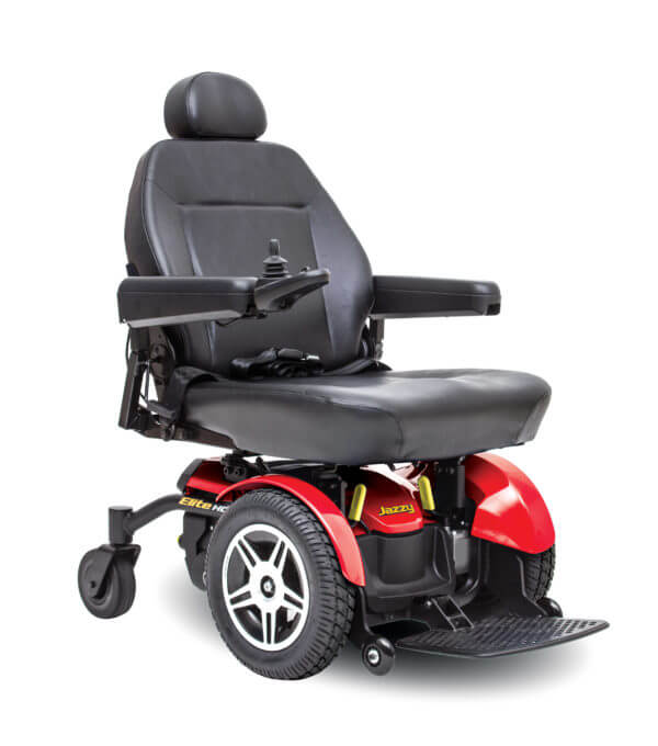 Red Jazzy Elite HD Powerchair