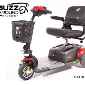 Red Golden Technologies GB118 BuzzAround XLEX 3-Wheel Scooter